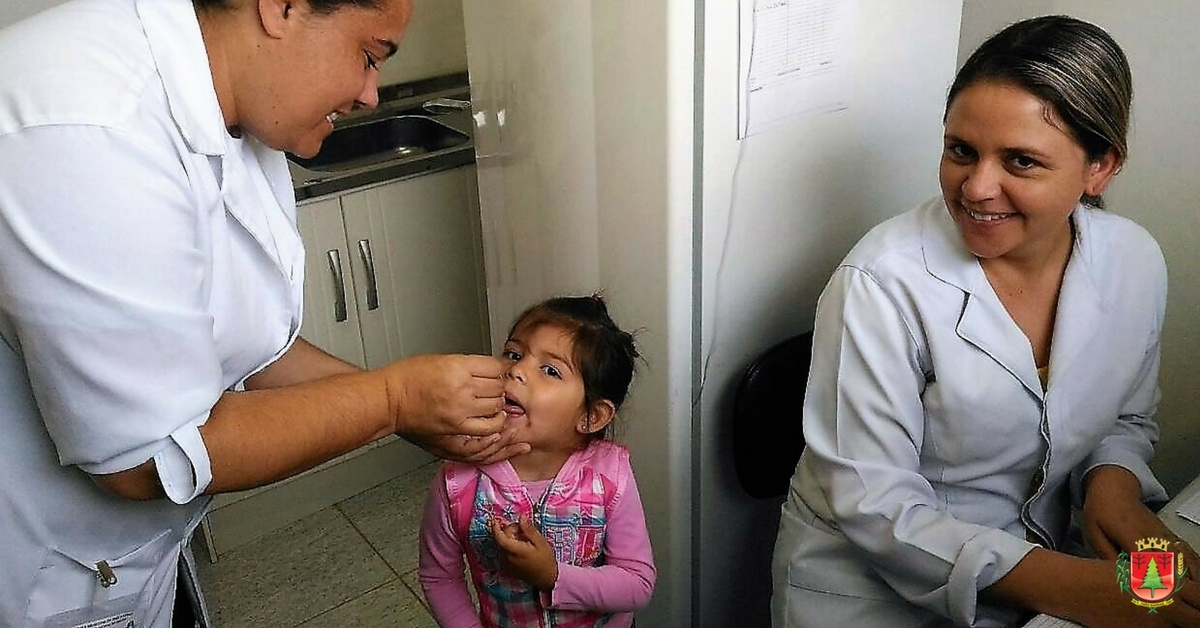 1.283 crianças e adolescentes comparecem às UBS durante a Campanha de Multivacinação