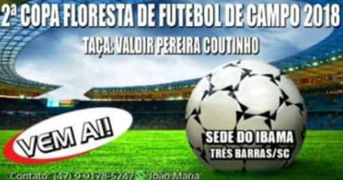 11 equipes disputarão a 2ª Copa Floresta de Futebol a partir de 23 de setembro