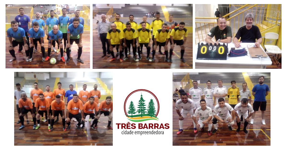 11 gols pela rodada inicial do Campeonato Interno de Futsal