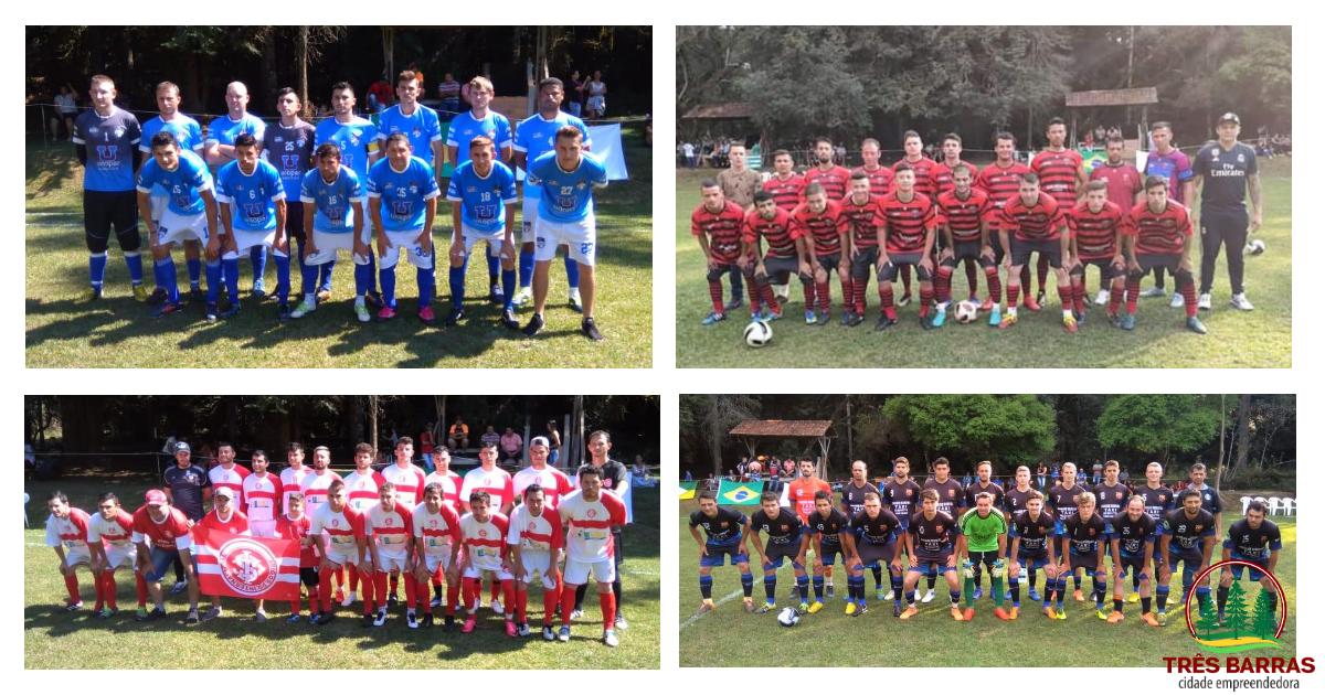 12 gols na rodada inicial da Copa Floresta de Futebol em Três Barras