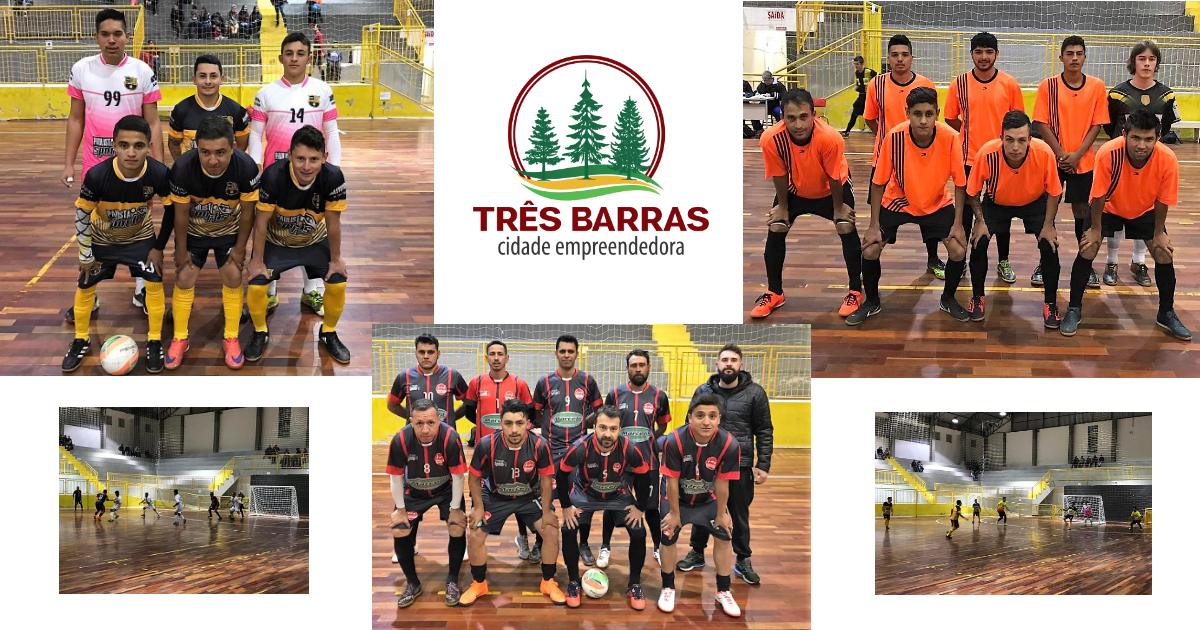 29 gols marcados pela segunda rodada do Futsal Livre Masculino em Três Barras