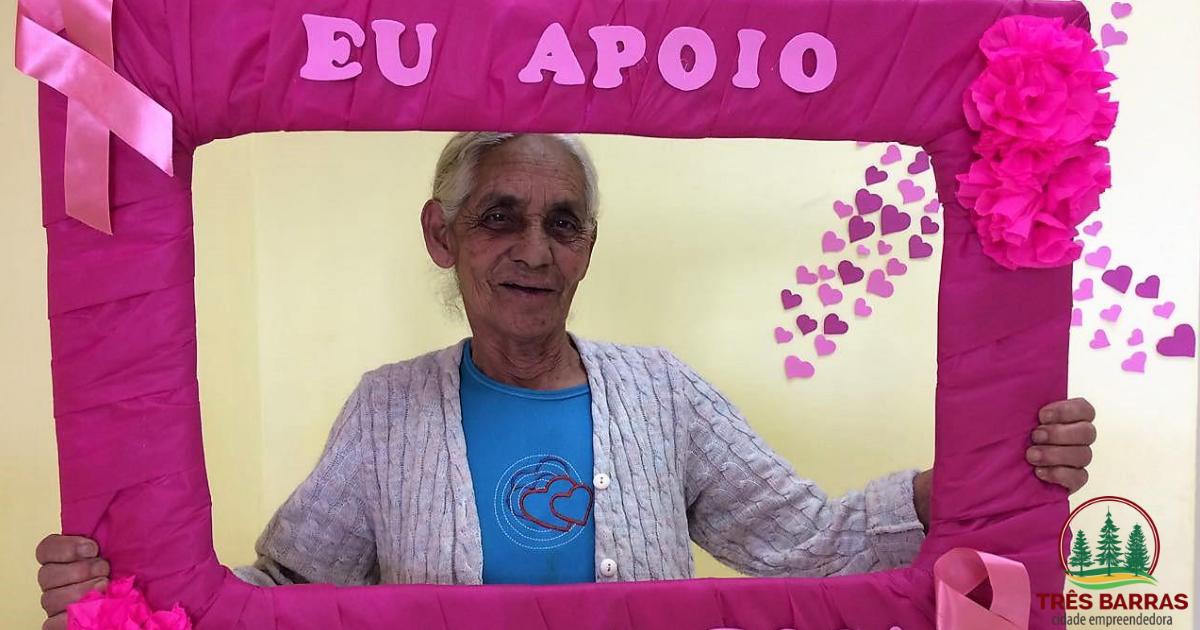 Ações do Outubro Rosa nas unidades básicas de saúde do interior de Três Barras