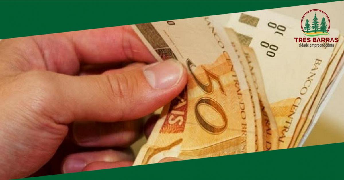 Adiantamento salarial do funcionalismo estará disponível para saque nesta quinta-feira