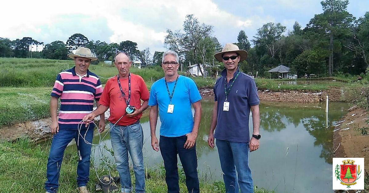 Agricultura e Epagri realizam visitas técnicas para orientar e motivar piscicultores do município