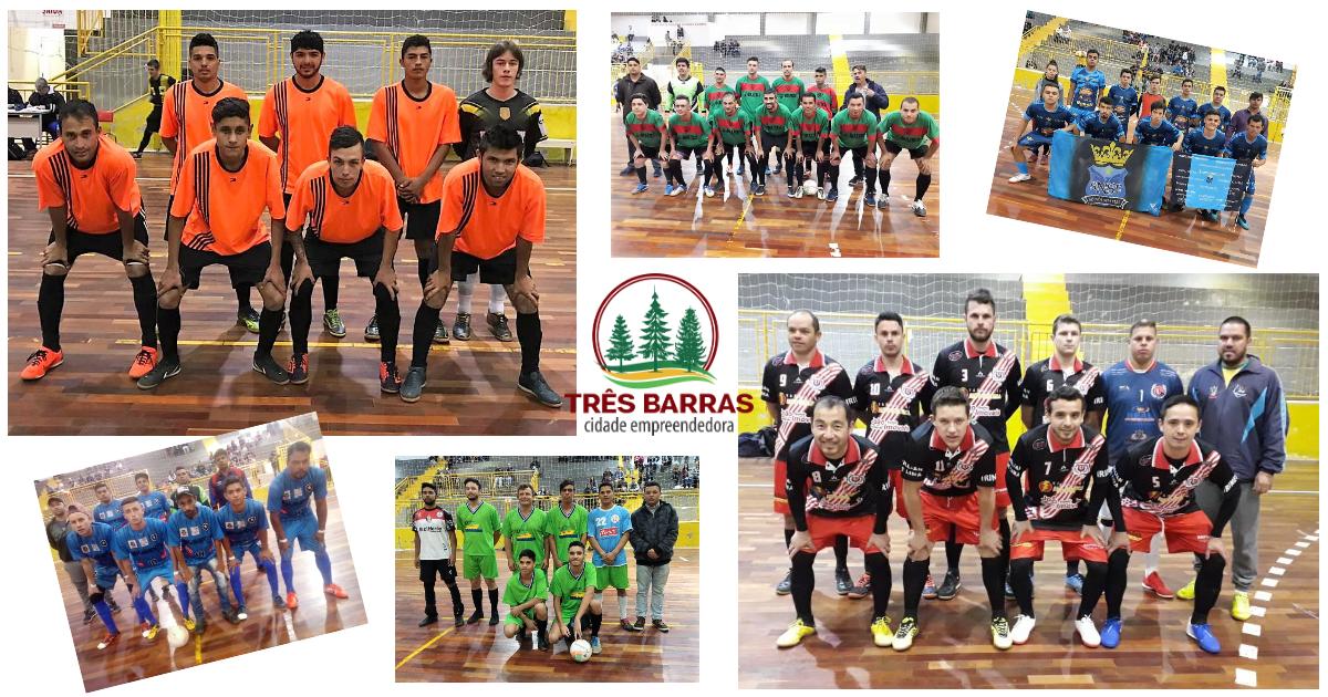 Amigos do Bairrão e Resenha FC vencem pela oitava rodada do Futsal Livre Masculino