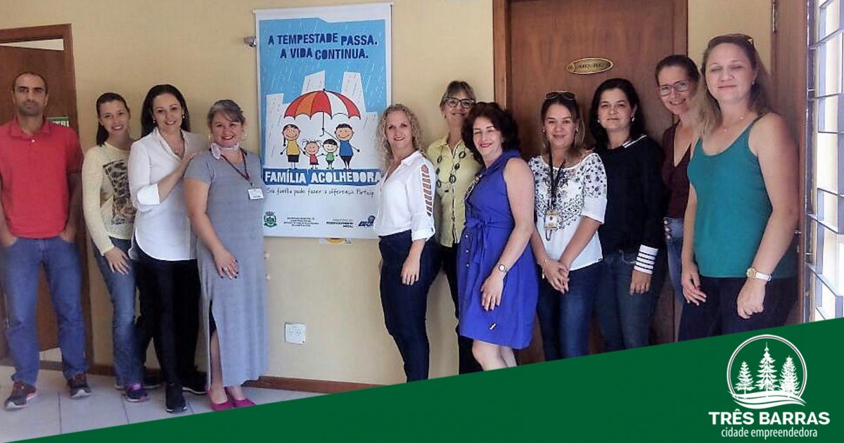Assistência Social inicia tratativas para reativar o Programa Família Acolhedora