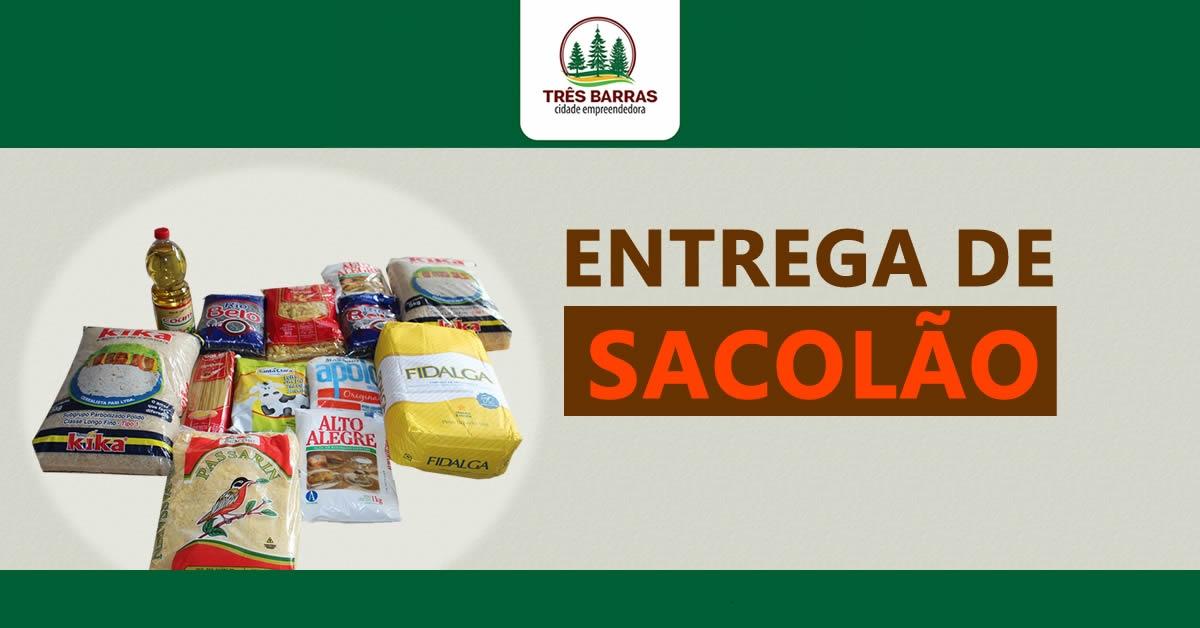 Atenção beneficiários: sacolões serão entregues na próxima semana