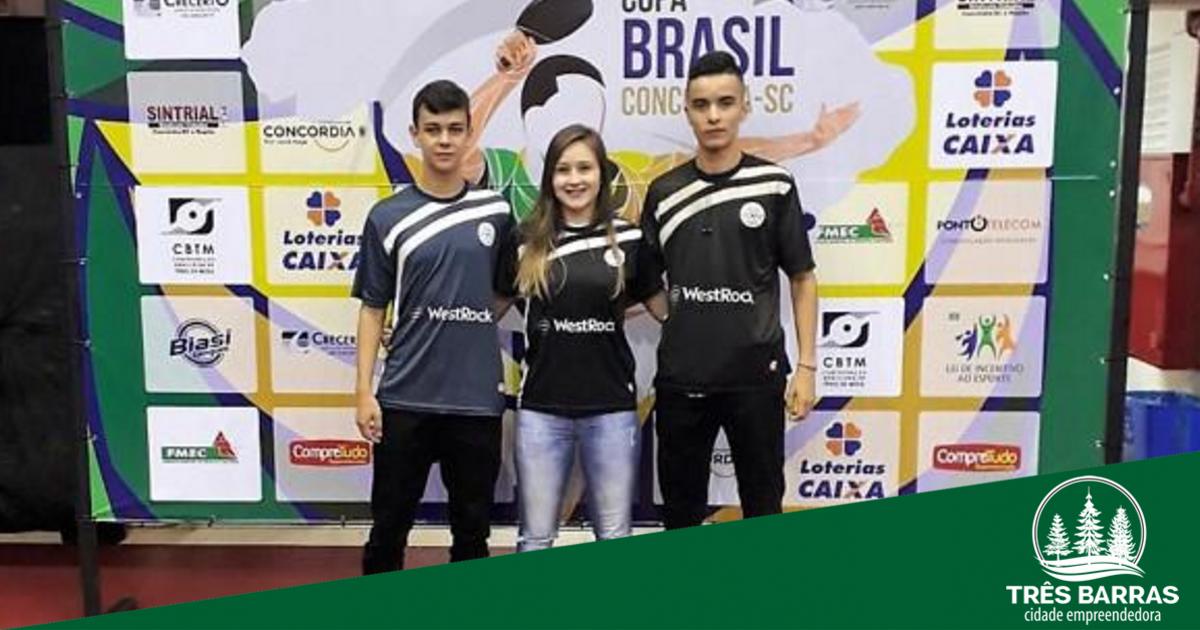 Atleta de Tênis de Mesa é quinta colocada em etapa da Copa Brasil