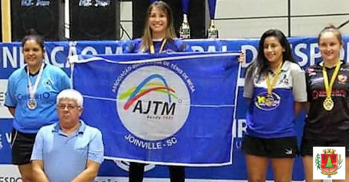 Sabrina Mizva obteve o terceiro lugar na categoria juvenil.