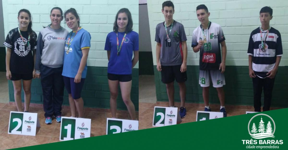 Atletismo: aluna da escola Guita Federmann classifica município à fase estadual dos Jesc