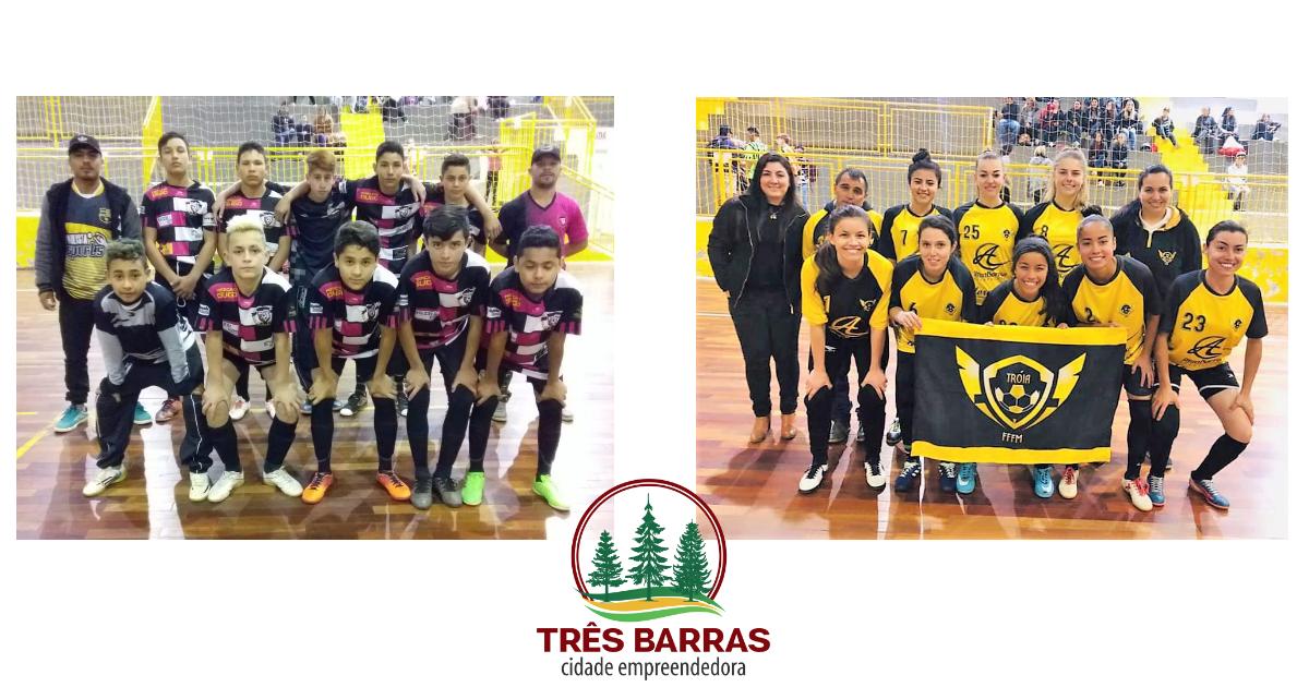 Bem Amigos FC está na final do Futsal Infantil; Tróia chega à decisão da categoria Feminino