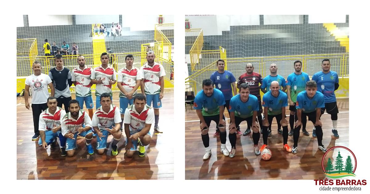 Caic Educação e Serrana são os finalistas do Campeonato Interno de Futsal