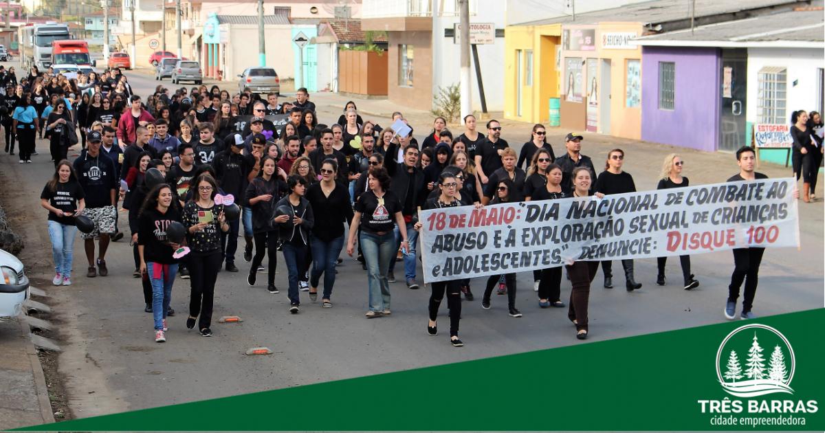 Caminhadas marcam o Dia Nacional de Combate ao Abuso e Exploração Sexual de Crianças e Adolescentes
