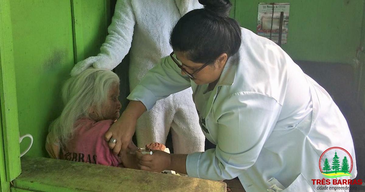 Campanha de vacinação contra gripe começa nesta quarta-feira