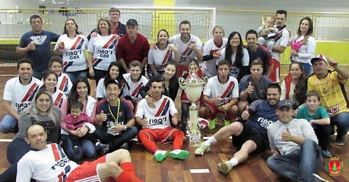 Campeonato de Futsal tem campeões em três categorias