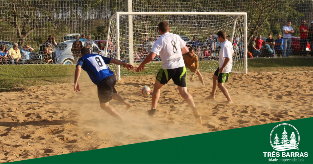 Começa neste domingo: 17 times disputam o Campeonato de Futebol de Areia no Alto do Mussi
