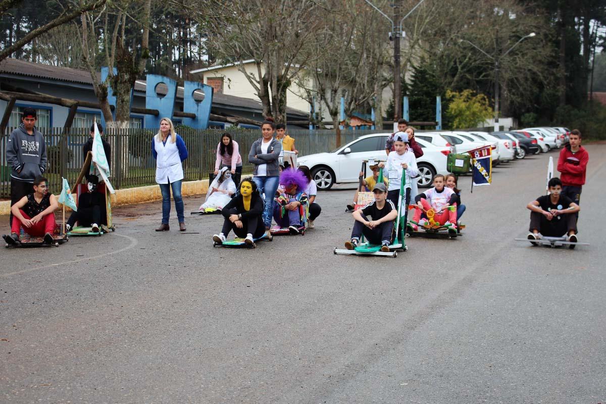 Concurso de Carrinho de Rolimã movimenta alunos da escola Guita Federmann