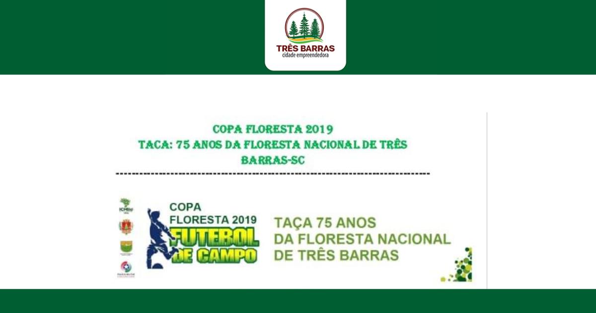 Copa Floresta de Futebol terá três jogos neste final de semana