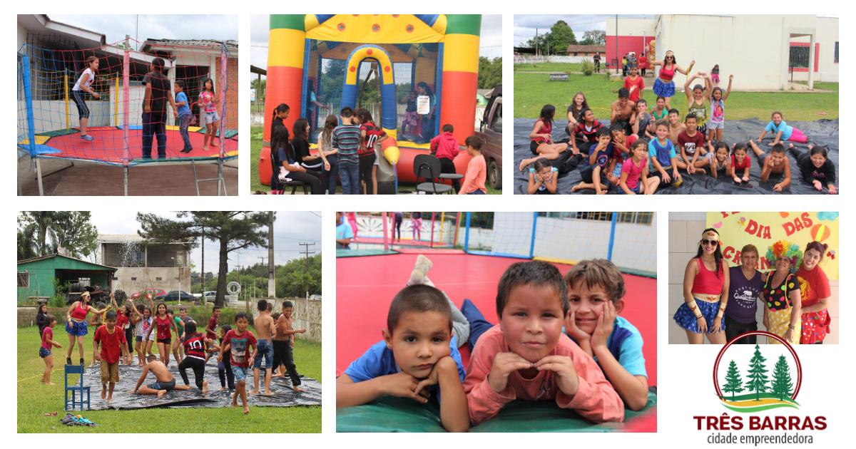 Cras e Serviço de Convivência realizam atividades alusivas ao Dia das Crianças