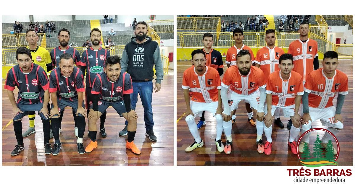 Definidos os dois primeiros semifinalistas do Futsal Livre Masculino em Três Barras