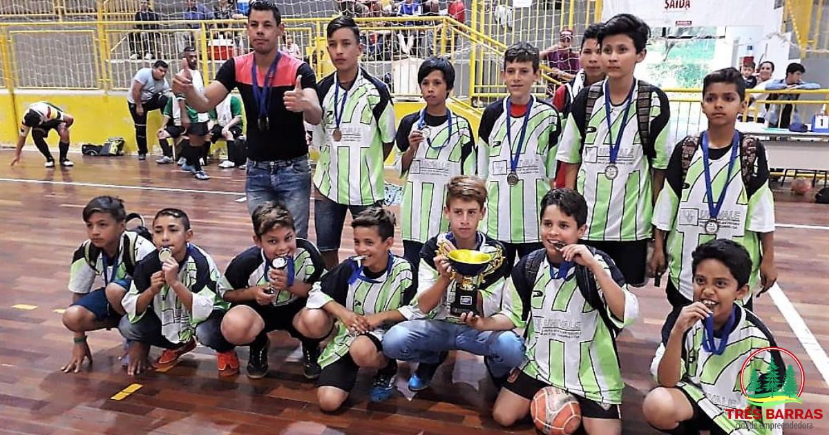 Definidos os terceiros lugares em três categorias do Municipal de Futsal