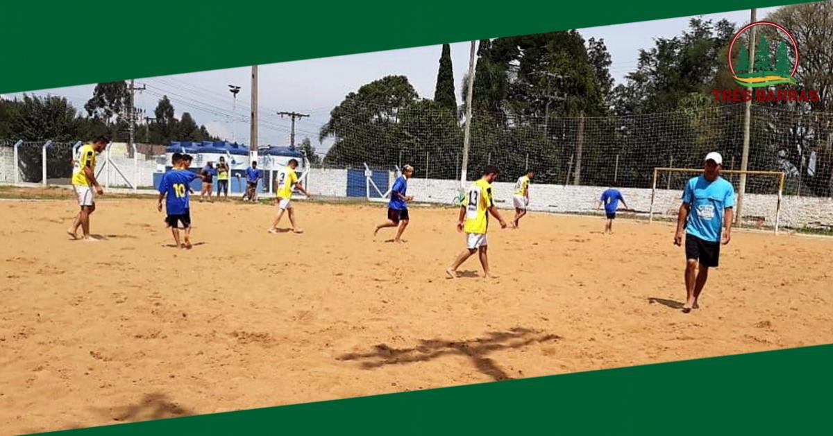 Definidos os times classificados para as quartas de final do Futebol de Areia
