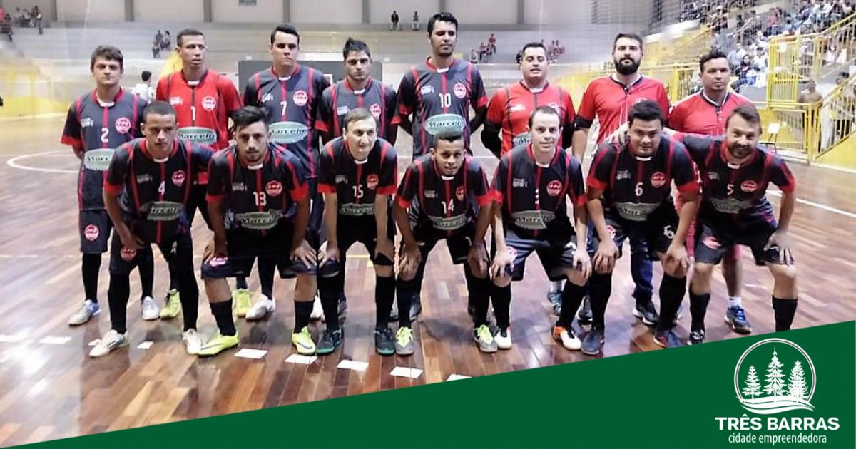 Deixaqueuxuto é o destaque da quinta rodada do Municipal de Futsal de Três Barras