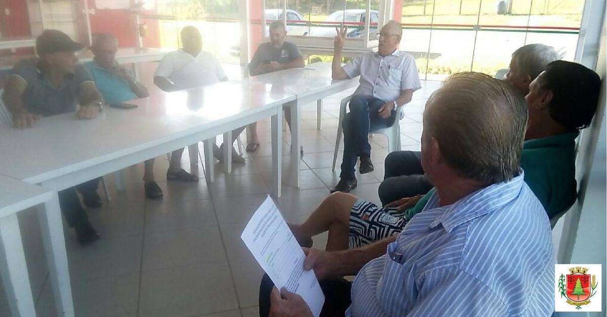 Disputas dos Jasti pautam reunião com os grupos da Melhor Idade