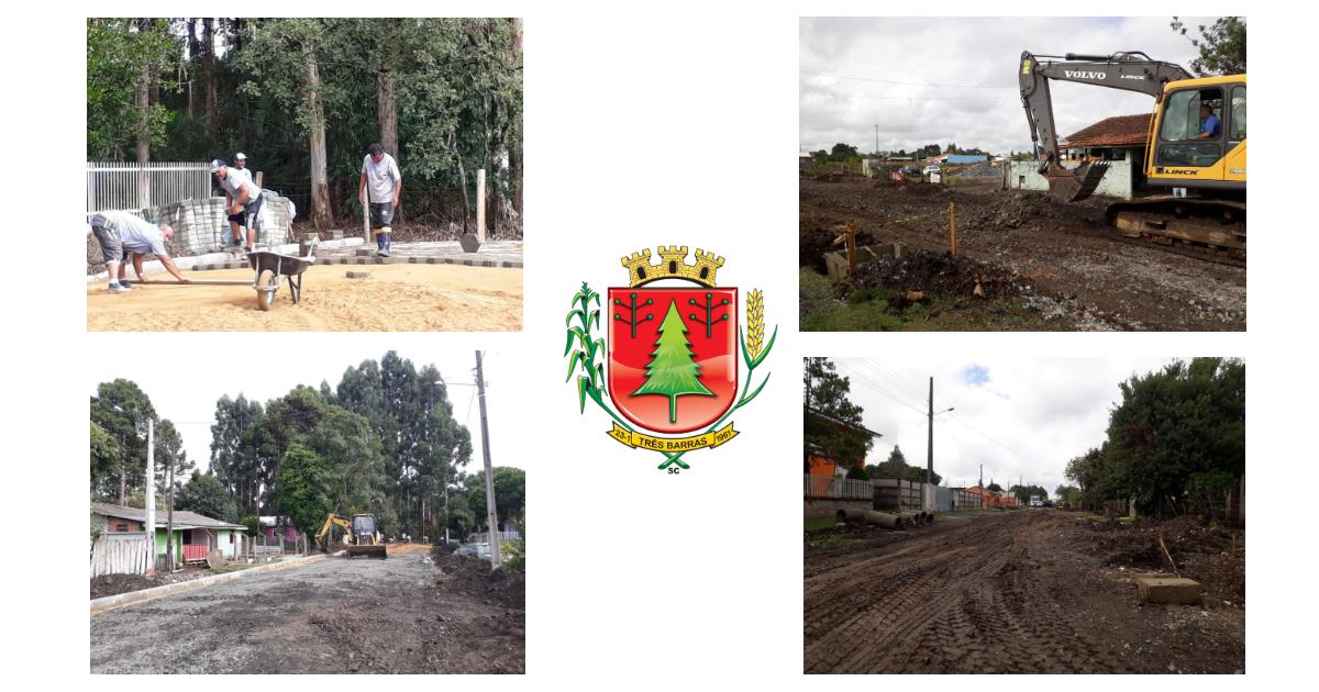 Duas ruas do distrito de São Cristóvão estão recebendo obras para calçamento