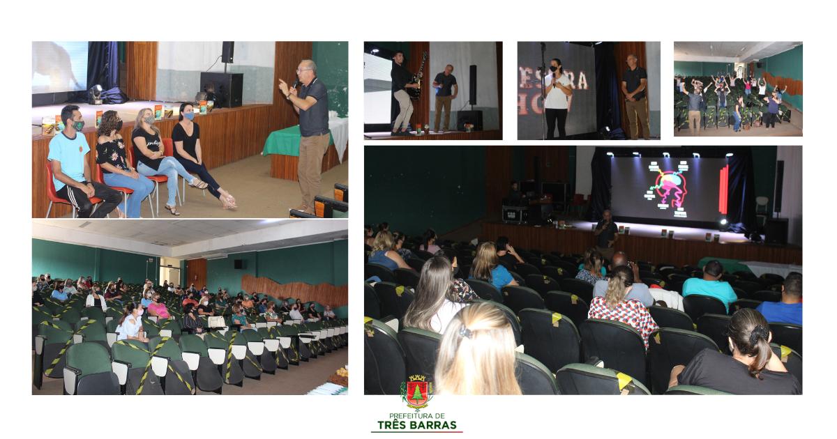 Educação promove capacitação e palestra show para profissionais da rede municipal