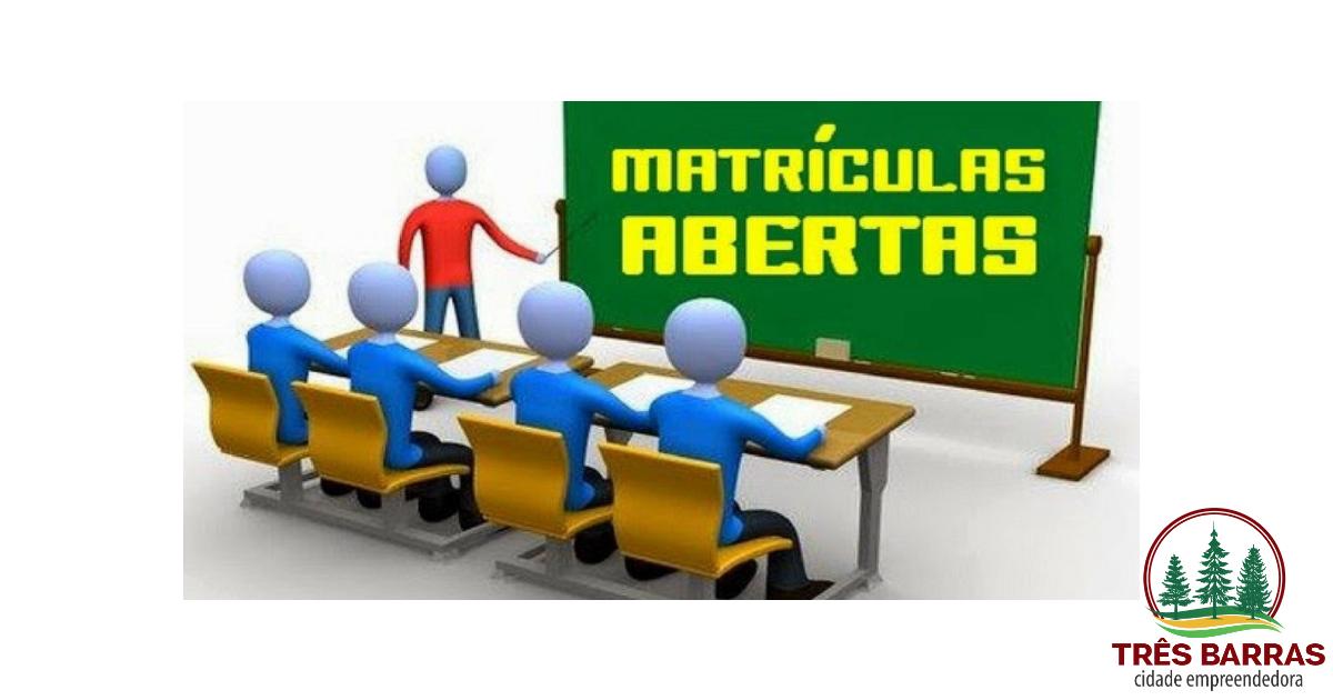 EJA abre matrículas do 6° ao 9° anos em duas escolas de Três Barras