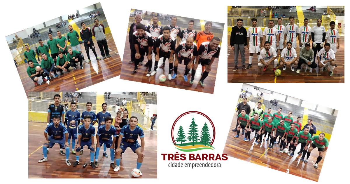 Empates marcam a 12ª rodada do Futsal Livre Masculino; Só Nós Sem Eles mantém liderança na chave D