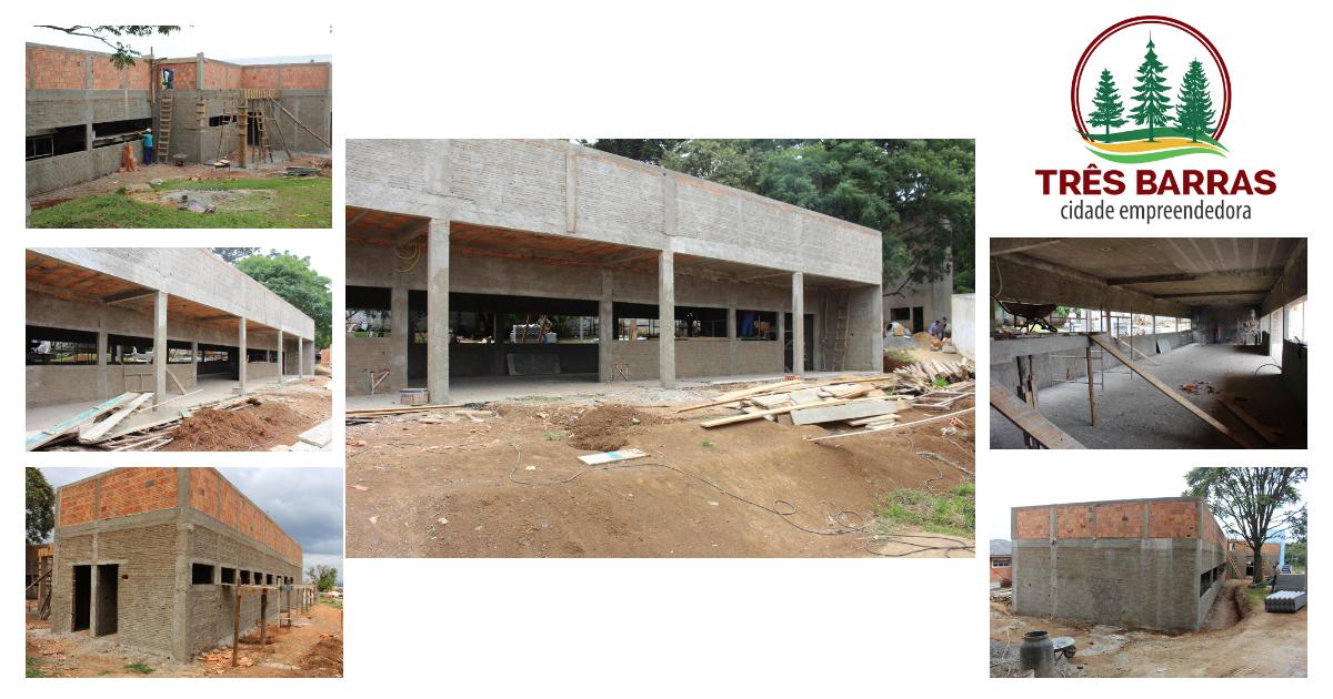 Escola municipal Guita Federmann terá novos refeitório e cozinha