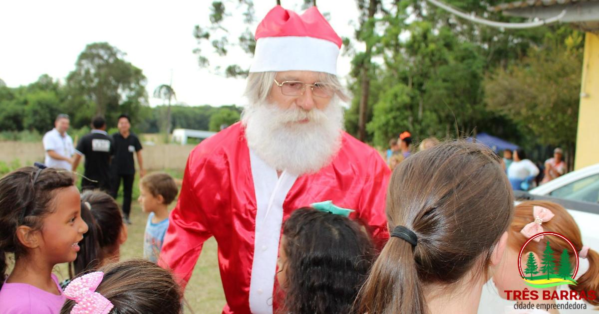 Festa na Campininha abre o Natal Luz em Três Barras