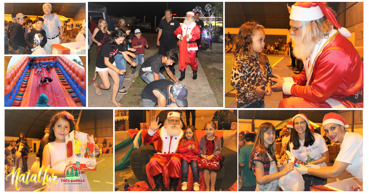 Festividade do Natal Luz presenteia mais de 230 crianças em São João dos Cavalheiros