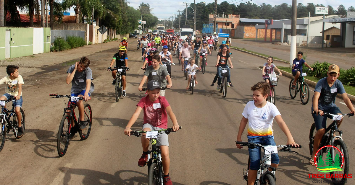 Fim de semana teve Passeio Ciclístico e show do Talagaço em Três Barras