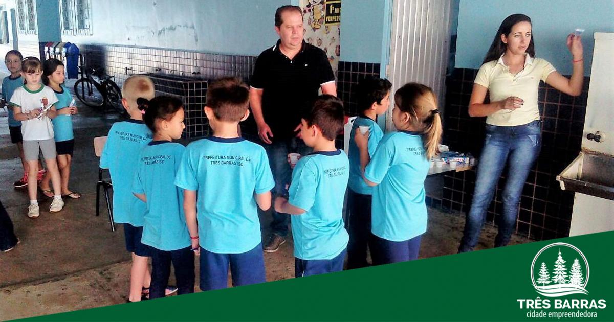 Francisco Rocha é a segunda escola municipal a receber projeto de saúde bucal