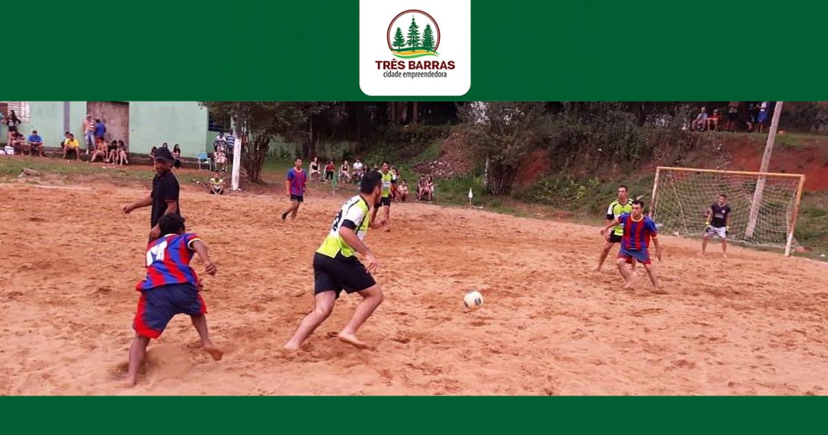 Futebol de Areia já conhece os times semifinalistas em Três Barras