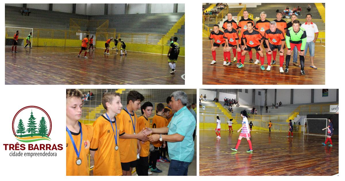 Futsal: divulgada a tabela nas categorias Livre Feminino, Veteranos e Infantil