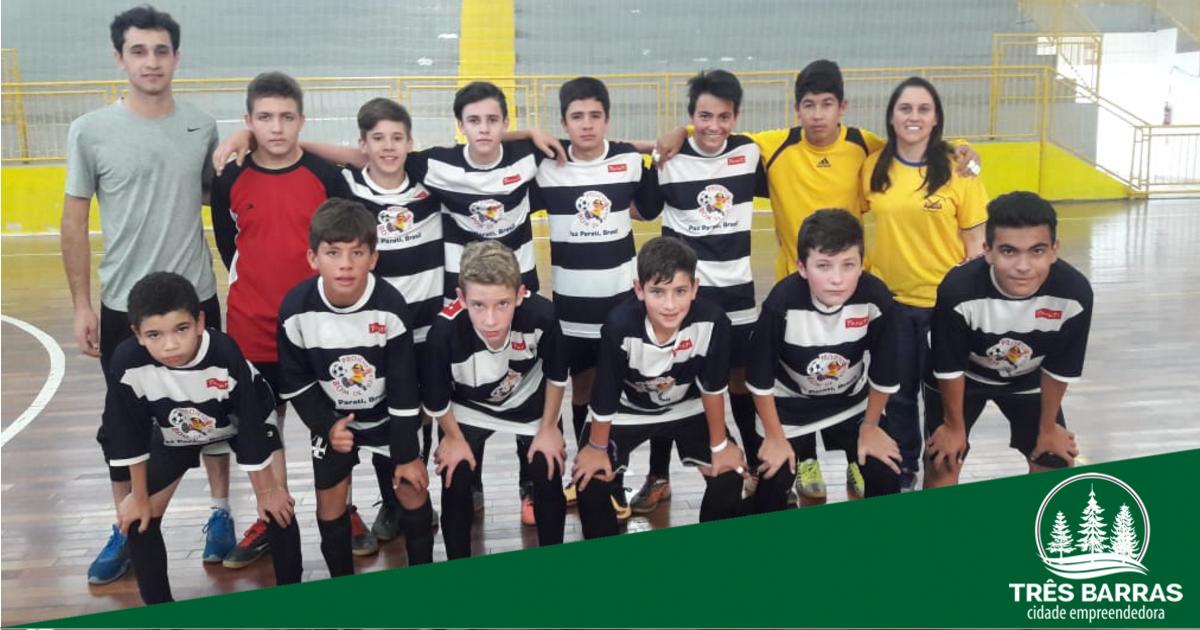 Futsal: Guita e Colombo se classificam a etapa microrregional dos JESC 12 a 14 anos