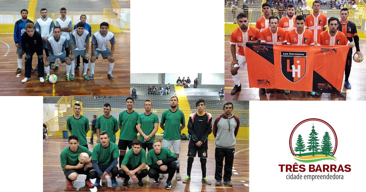 Futsal Livre Masculino: rodada inicial tem média superior a 6 gols por partida