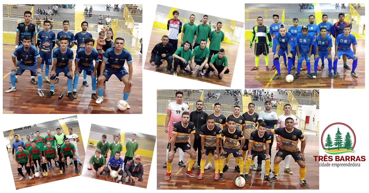 Futsal Livre: Vitórias dão lideranças de suas chaves ao Só Nós Sem Eles e Unidos Pela Bola