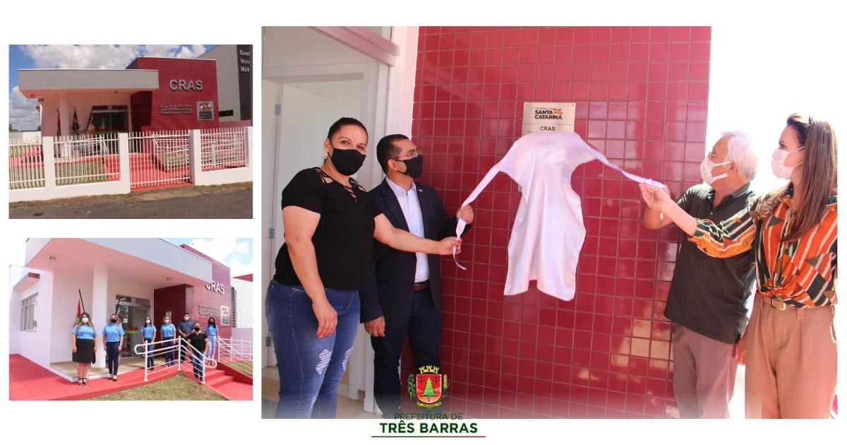 Governo de SC entrega oficialmente a nova sede do CRAS de Três Barras