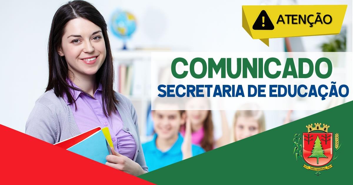 GOVERNO DE TRÊS BARRAS EMITE NOTA SOBRE BOATOS DE AMEAÇA EM CENTRO DE EDUCAÇÃO INFANTIL