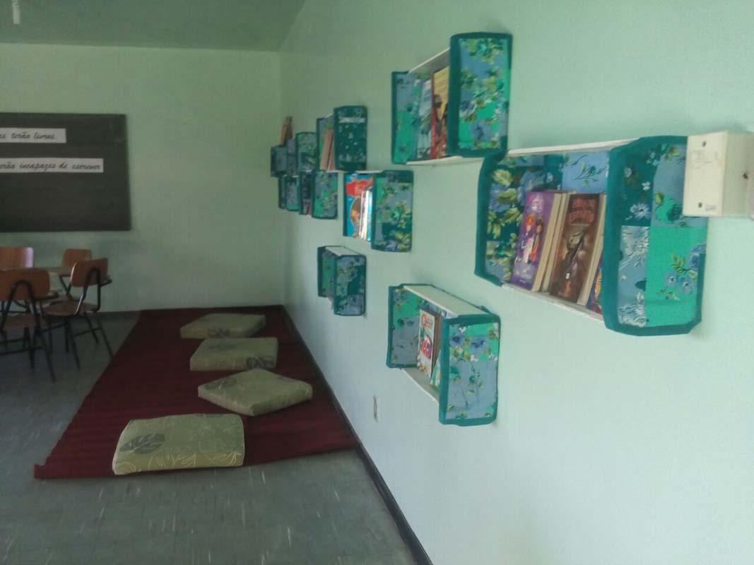 Inaugurada nova sala temática na escola municipal João Pacheco de Miranda Lima