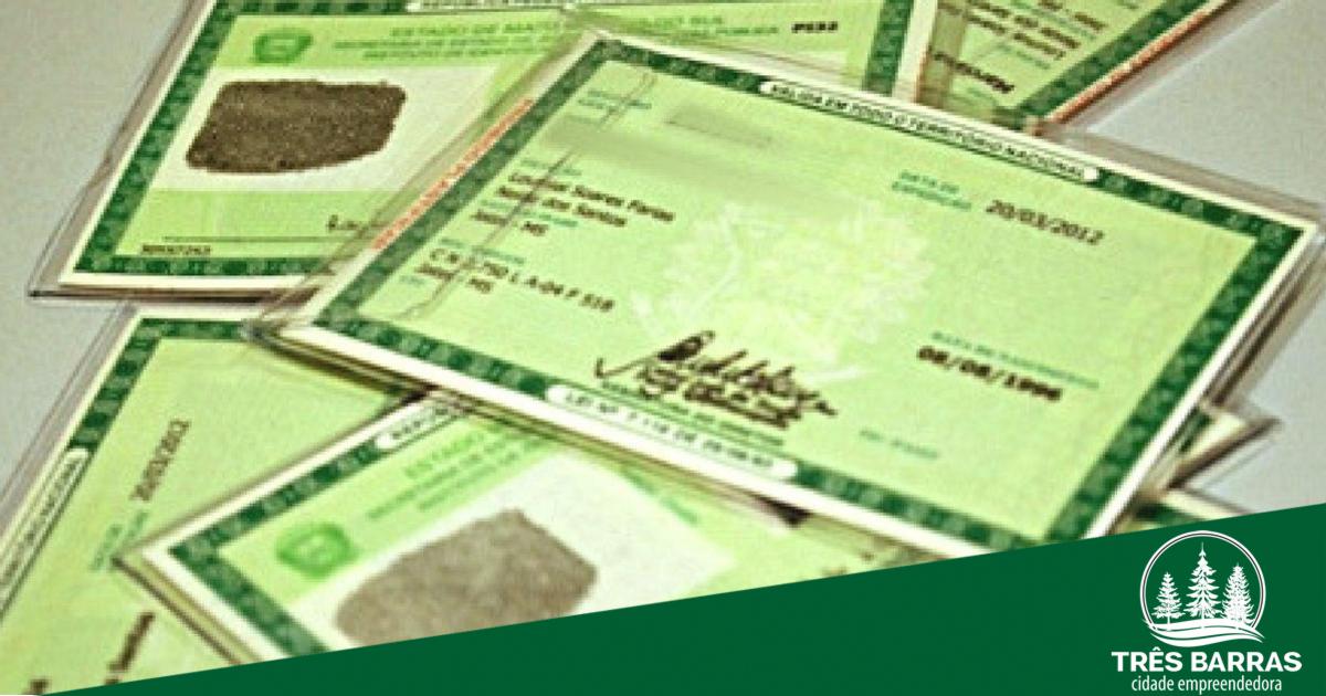 Informação importante para quem solicitou nova carteira de identidade
