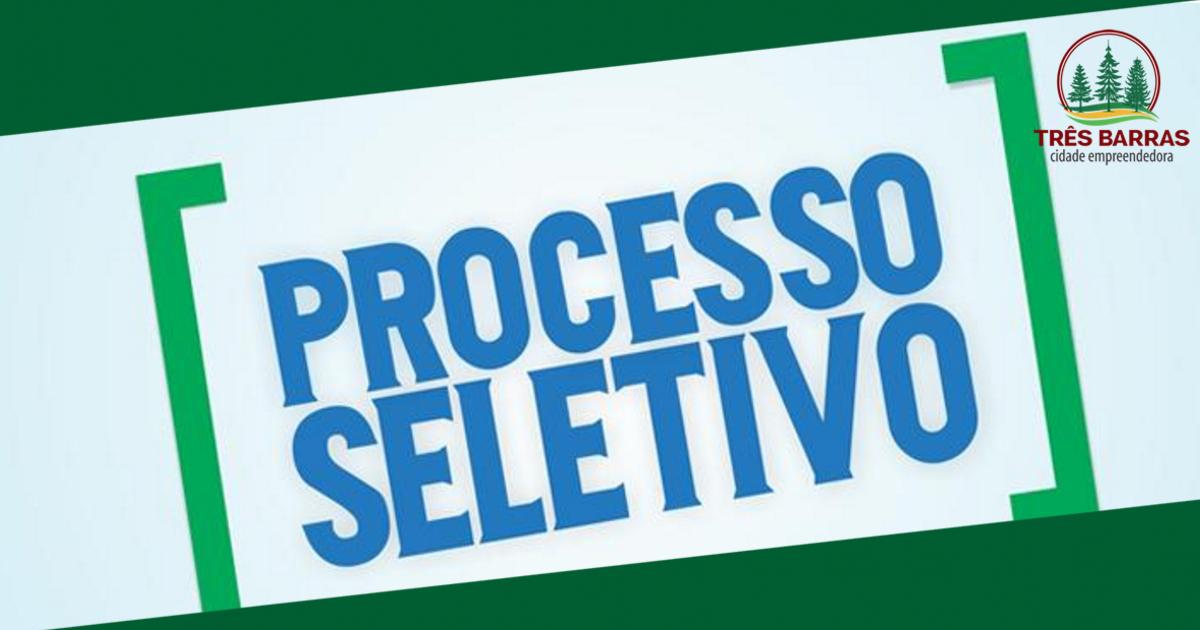 Inscrições abertas para Processo Seletivo de Emprego Público para o Programa