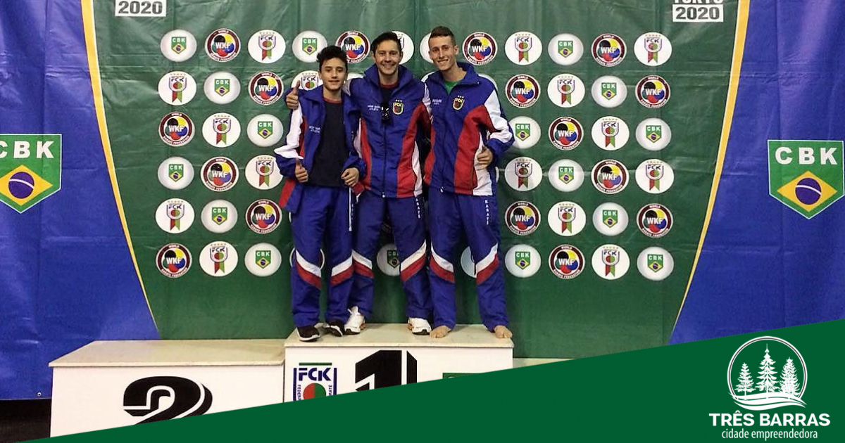Karateca tresbarrense representa SC em etapa classificatória para o Campeonato Brasileiro