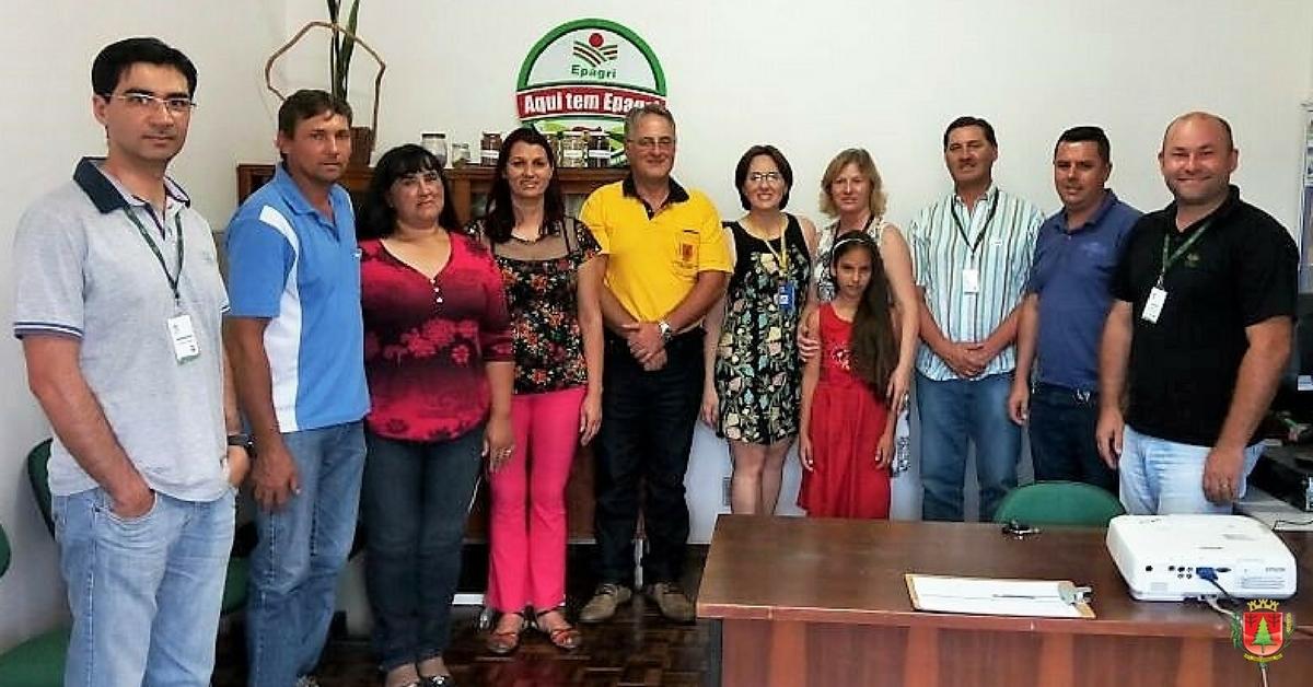 Lançamento do Coban e ações da Epagri no município marcam reunião com lideranças