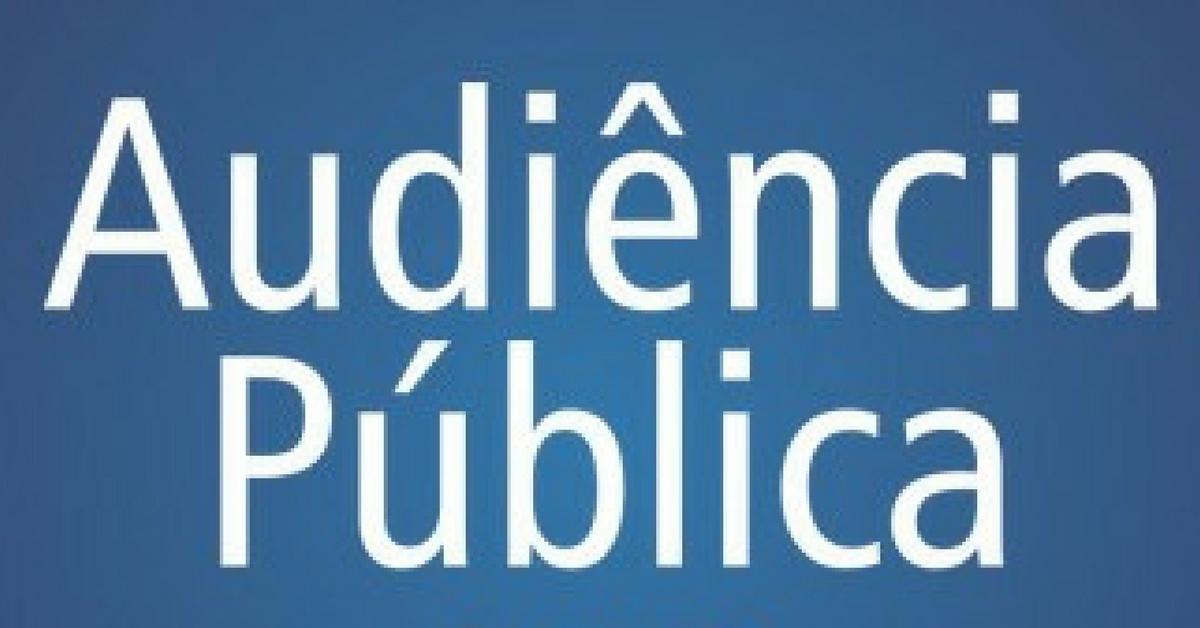 LDO será debatida em audiência pública nesta quinta-feira